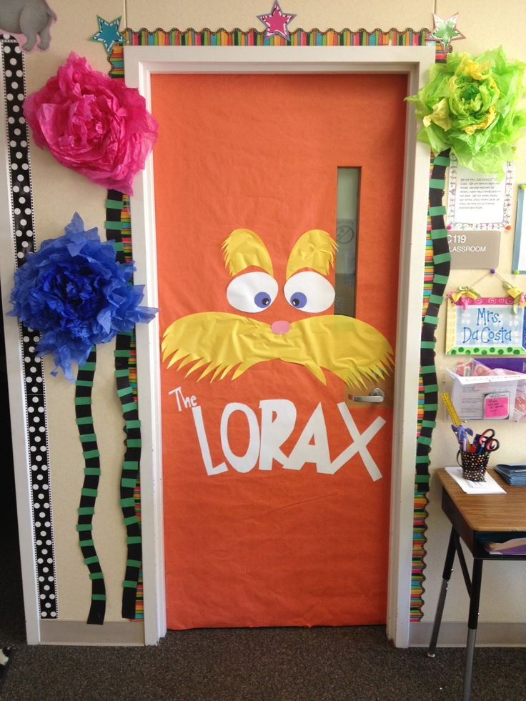 Classroom Decoration Ideas With Paper : Dr seuss school pinterest trees tissue paper and lorax