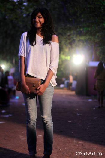 Blue jeans White Top, Street Style, Street Fashion, India