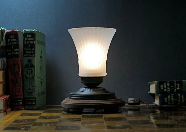 Victorian Inspired Accent Light Table Lamp by EclecticForest, $75.00