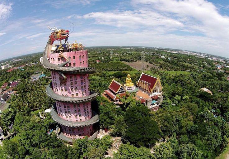 Храм Дракона в Таиланде: колыбель буддизма http://idesign.today/arxitektura/xram-drakona-v-tailande #travel #architecture