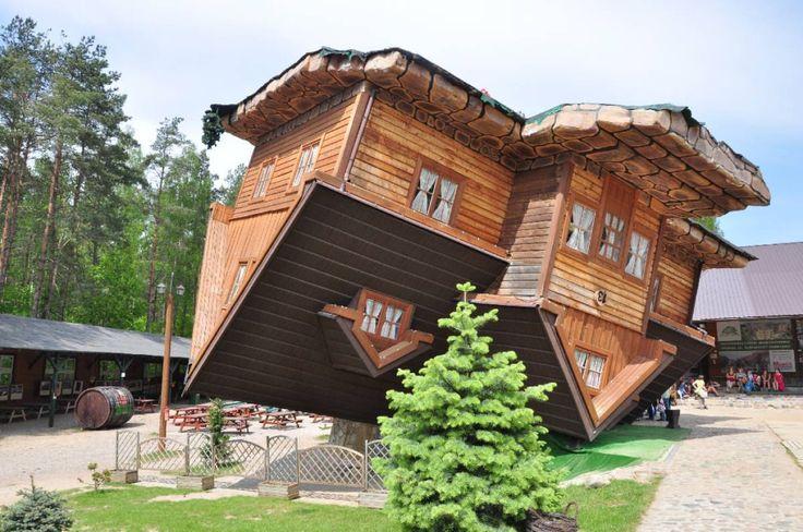 Dieses Haus steht Kopf