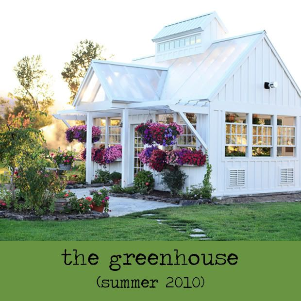Meadowbrook Farm Greenhouse...I want one =): Guest House, Farms, Dreams House, Greenhouses, Green House, Backyard Retreat, Gardens House, Pots Sheds, Gardens Sheds