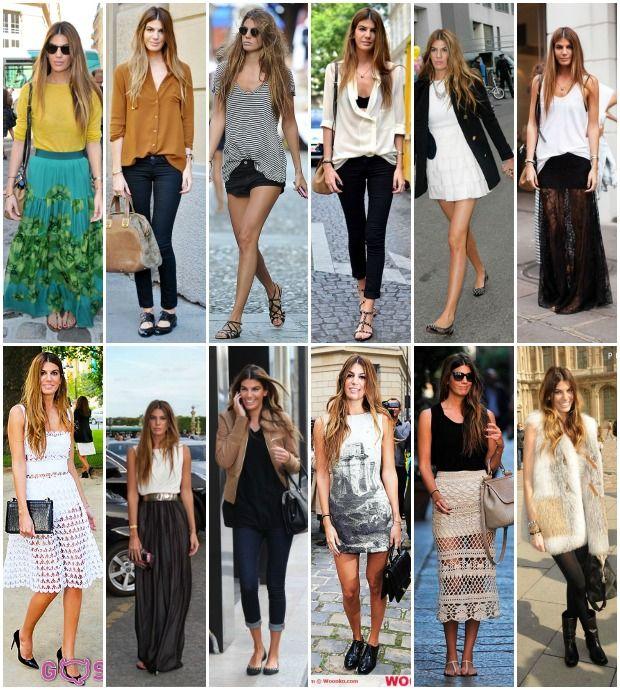 Bianca Brandolini D'Adda Street Style