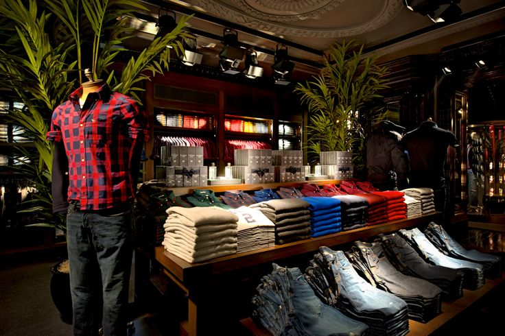 1000 images about hollister store on pinterest nyc for Abercrombie interior design and decoration