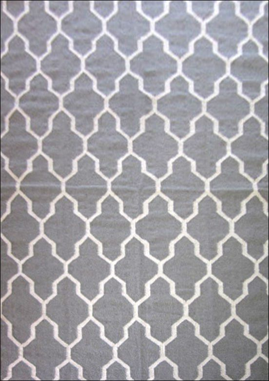The Grey Handwoven Woollen Durrie Rug is a beautiful modern trellis style floor rug. View here: https://www.rugsofbeauty.com.au/collections/winterton/products/handwoven-woollen-durrie-rug-sweden-459-grey