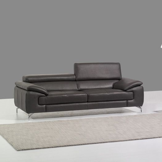 Found it at AllModern - Italian Leather Sofa