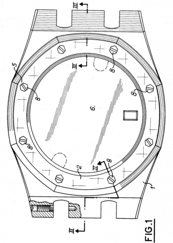 The figure from the U.S. Patent of Royal Oak.