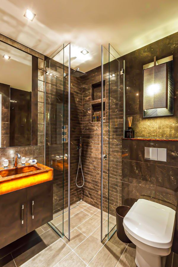 37 Cool Small Bathroom Designs Ideas For Your Home Page 8 Of 37 Lasdiest Com Daily Women Blog In 2020 Small Luxury Bathrooms Modern Bathroom Design Small Bathroom Remodel