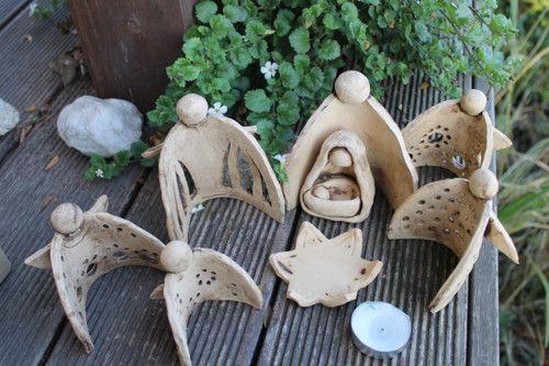 die besten 25 engel keramik ideen auf pinterest lehm engel t pfern ideen und keramik. Black Bedroom Furniture Sets. Home Design Ideas