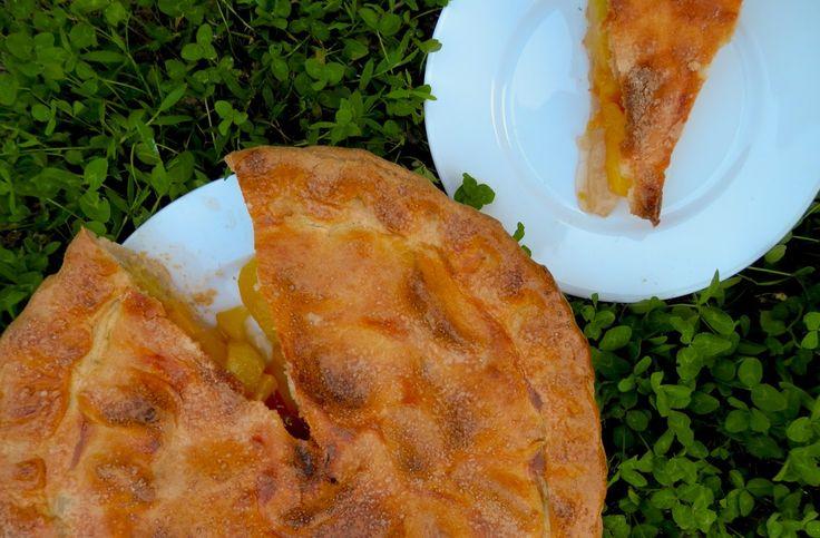 Broskvovo-nektarinkový pie