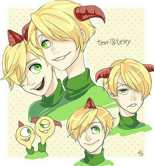 Humanized Terri and Terry