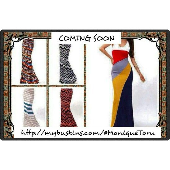 We have new maxi skirts and a new dress coming out soon. Will be available in sizes small, medium, large, xlarge.  Coming soon to http://mybuskins.com/#MoniqueToru affiliate referred Monique Toru  #buskins #busymum  #maxidress #maxiskirts #comingsoon #fashion  #clothong #onlineshopping #sales