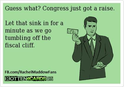 Congress just got a raise