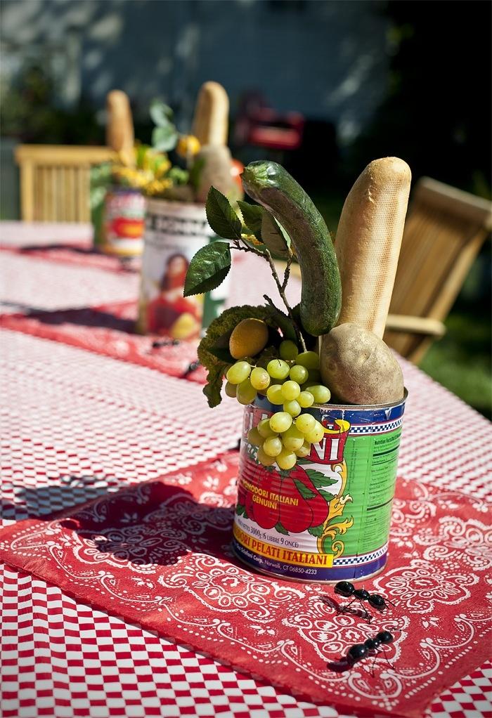 Best picnic centerpieces ideas on pinterest