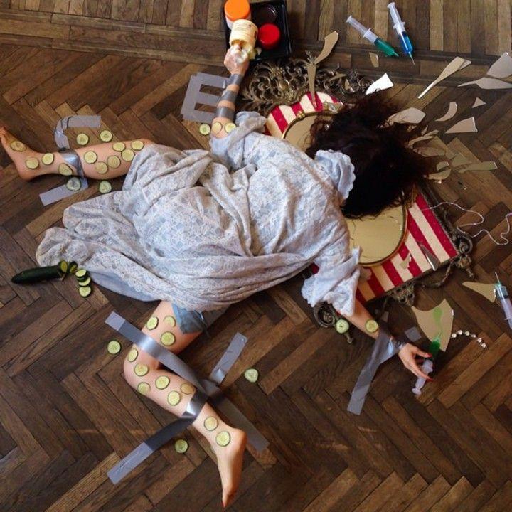 20 photos de personnes qui tombent