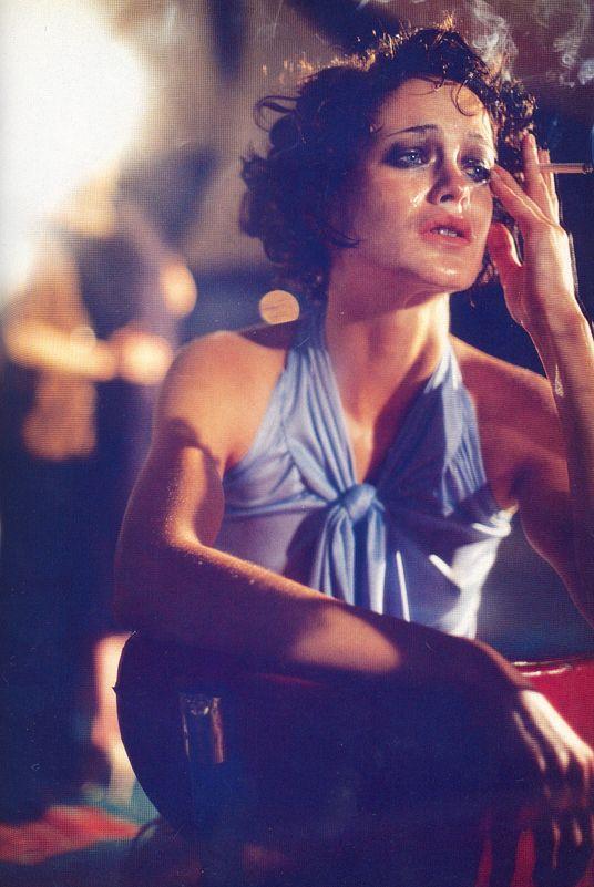 Carolyn Murphy by Steven Meisel - Vogue Italy, March 1997