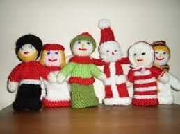 free knitted finger puppet patterns - Google Search