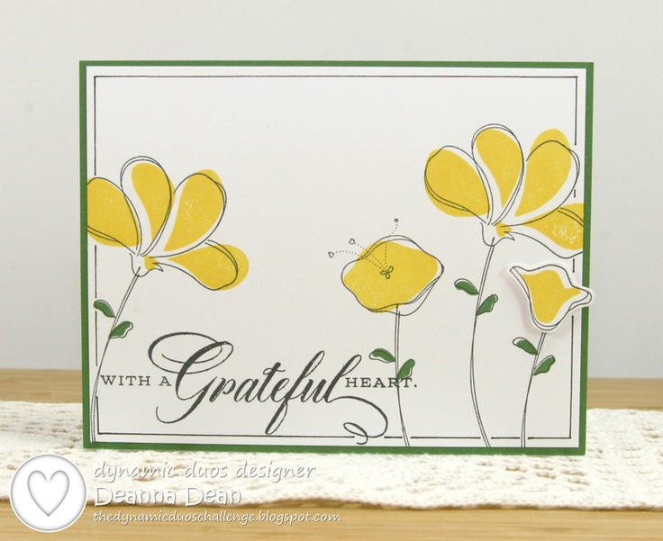 283 best cards awash with flowers images on pinterest flower stampin up awash with flowers i wonder if i could draw flowers like these ccuart Image collections