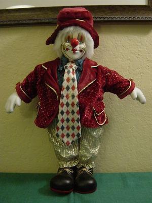 Vintage Emmett Kelly Clown