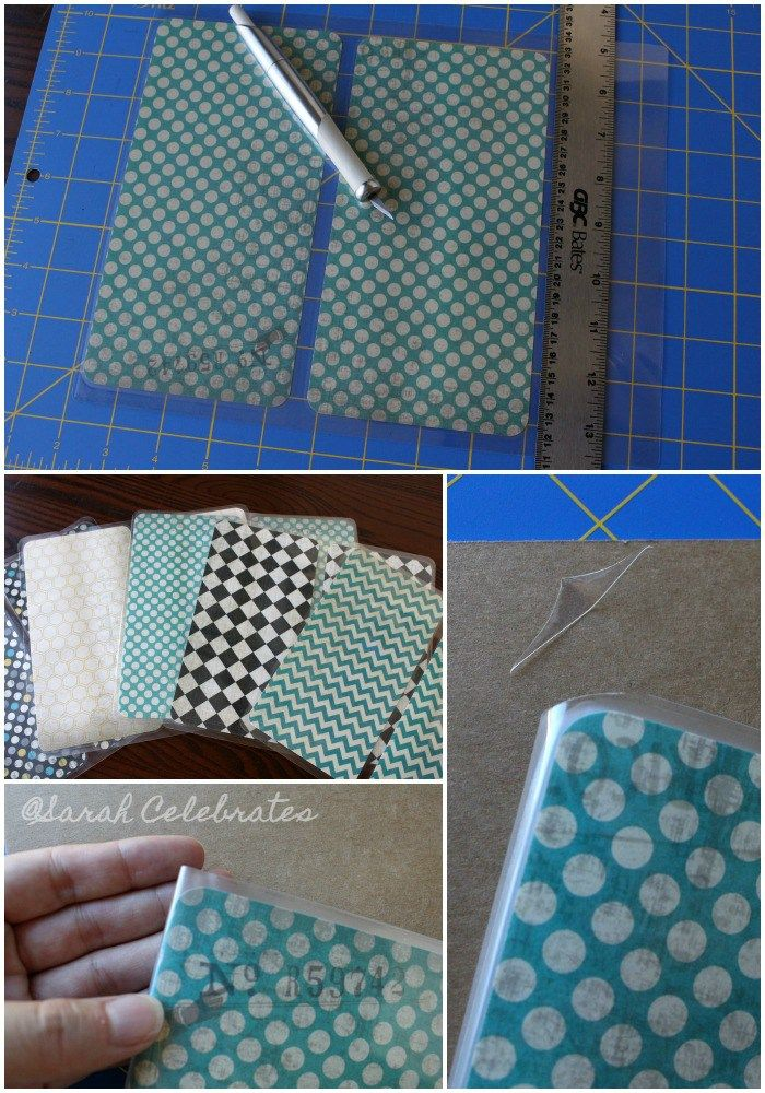 DIY Dashboard for your travelers notebook -Trim excess sheet and make notebook string notch for MTN