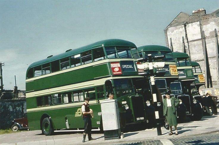 C.I.E buses, Dublin 1950s