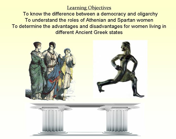 the role of women in spartan The status of women in ancient greece varied form city state to city state records  exist of women in ancient delphi, gortyn, thessaly, megara and sparta.