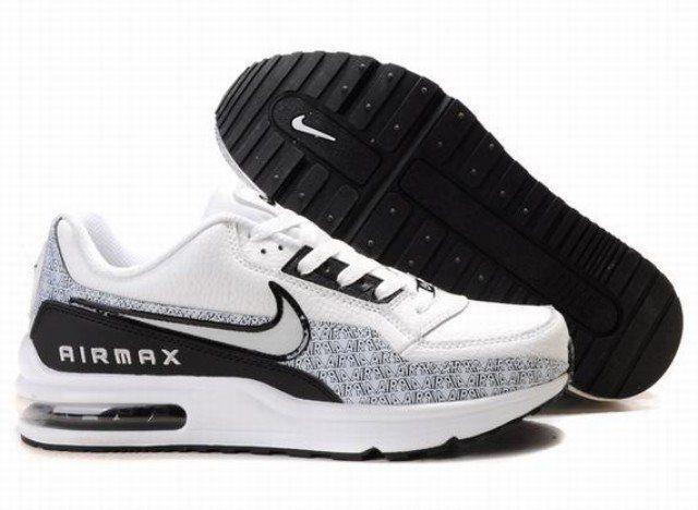 Pas cher Jed1N Homme Nike Air Max LTD Blanc/Noir/D France Prix ?