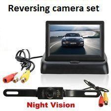 Car Reverse Camera & Screen