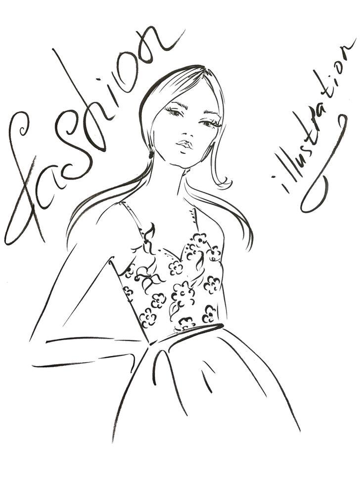 Best 25+ Fashion illustration tutorial ideas on Pinterest