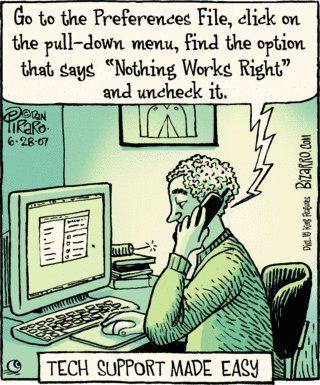 Tech Support Humor | From Funny Technology - Community - Google+ via Mohammed Mustafa