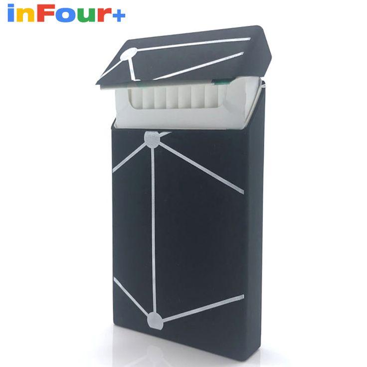 Fashion Silicone Cigarette Case Silicone Box Lady 20 Women Cigaret Box Cigarette Box Case Pitillera De Silicona Cigarete Case #Affiliate