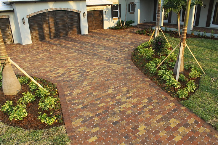 64 Best Images About Paver Driveway On Pinterest Clay