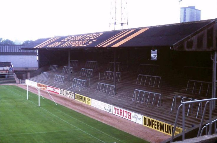 The Famous Shed End at Tannadice