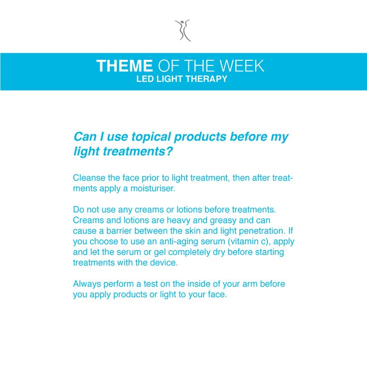 Question: Can I use topical products before my light treatments? #dermacaredirect #LED #FAQ