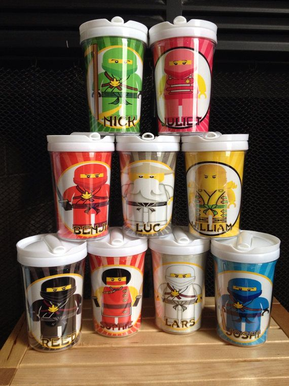 Ninjago Personalized Child's Tumbler Cup w/ Everlasting ...
