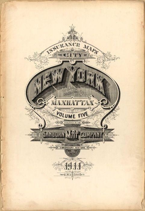 Vintage Type Poster