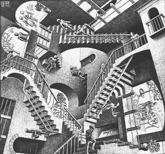Obras del artista neerlandés que desafía la percepción y las matemáticas.