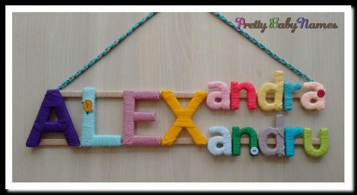 Baby sign; baby name tag; handmade baby names