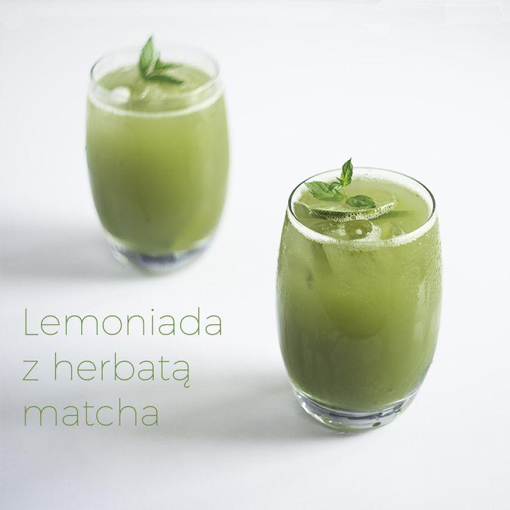 Lemoniada z herbatą matcha (probiotyczna) | Zielona wśród ludzi