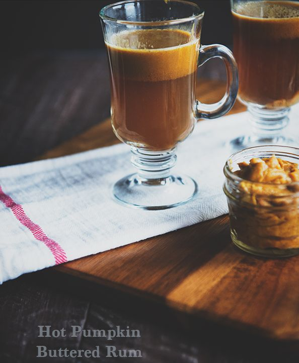 Hot Pumpkin Buttered Rum | 21 Boozy Drinks To Keep You Warm This Winter