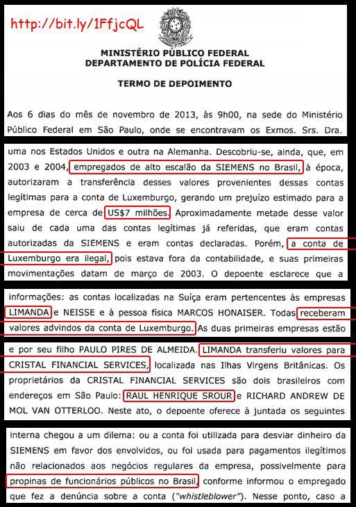 Vexame do UOL: esconde propinas a tucanos envolvendo doleiro pego no Suiçalão. | Os Amigos do Presidente Lula