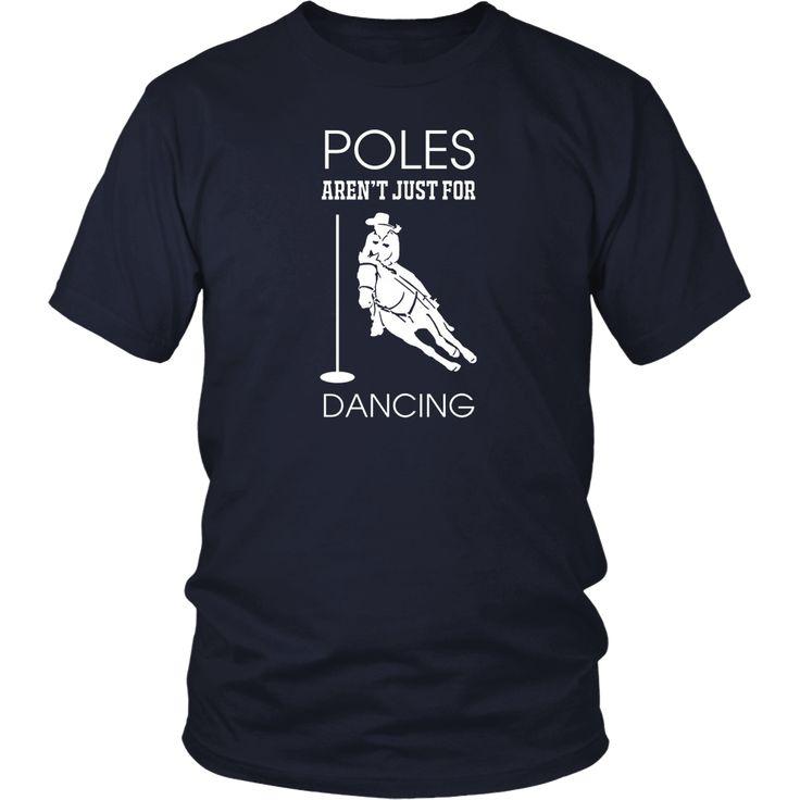 Barrel Horse Racing Pole Bending Cool T-Shirt
