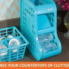 Bottle Organizer | This is a great storage solution for baby bottles, sippy cups, expressed milk, and even later on for individually packaged drinks! What a versatile clever space saving design!