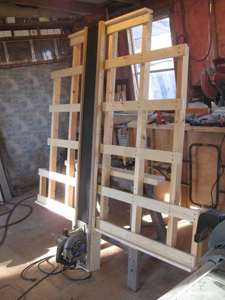 Home made Panel saw