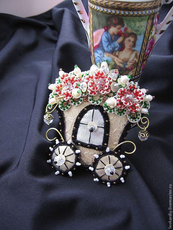 """Купити Брошь-кулон """"Из Шкатулочки Принцессы"""" II - винтаж, винтажный стиль, винтажные украшения"""