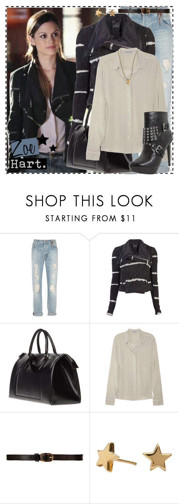 """Zoe 1.06c"" by silver-screen-style ❤ liked on Polyvore featuring HTC, Veda, Jil Sander, James Perse, MICHAEL Michael Kors, CO-OP Barneys New York, Simply Silver, Naomi Gray Designs, zoe hart and hart of dixie"