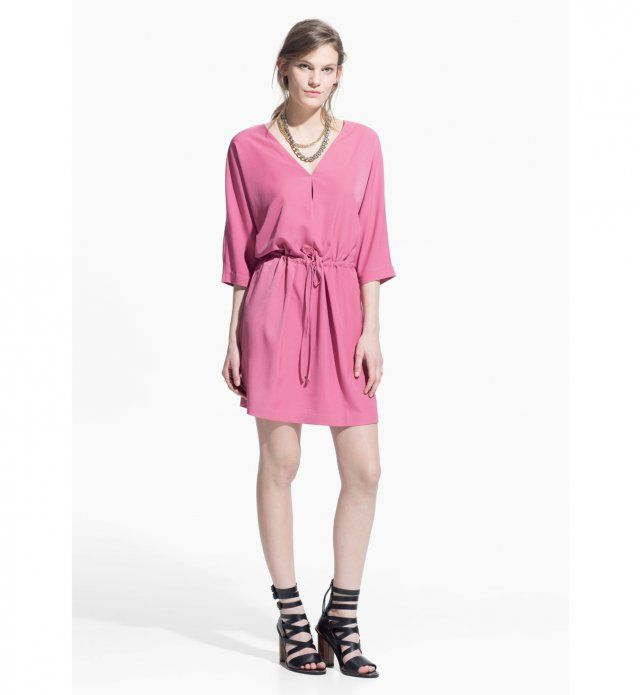 Robe hanches larges : une robe Mango, 39,99€