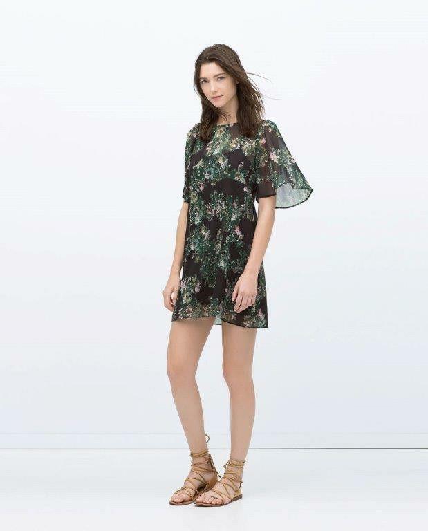Vestido túnica Zara