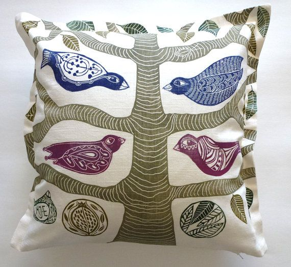 decorative pillow/cushion cover/pillow by cushioncushion on Etsy, $45.00