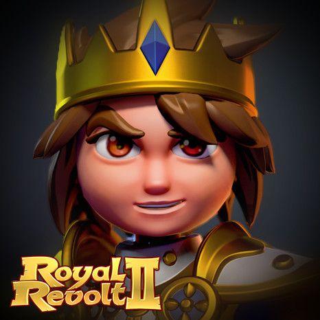 Royal Revolt 2: Hero, Tim Moreels on ArtStation at https://www.artstation.com/artwork/xrLNm